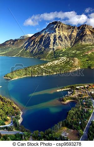 Pictures of Waterton Lakes National Park Canada.