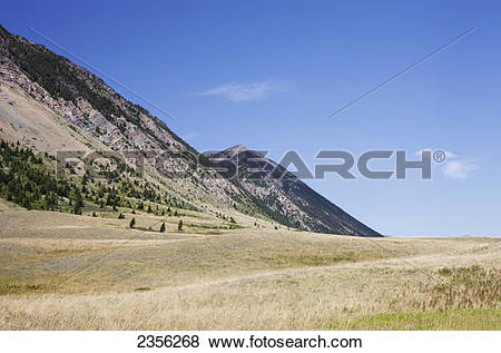 Pictures of Landscape Of Waterton Lakes National Park; Alberta.