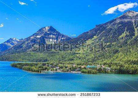 Waterton Lakes National Park Stock Photos, Royalty.