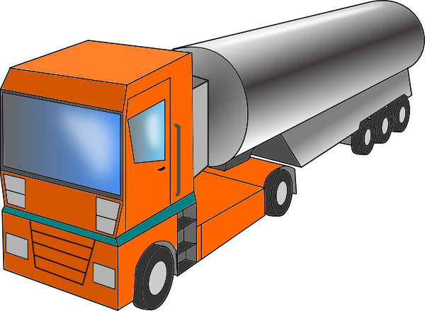 Truck Cistern Clip Art at Clker.com.