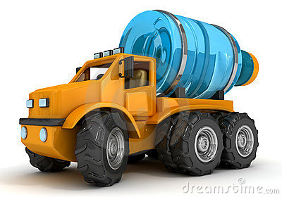 Water tanker truck clipart.