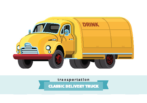 Water Truck Clip Art, Vector Images & Illustrations.