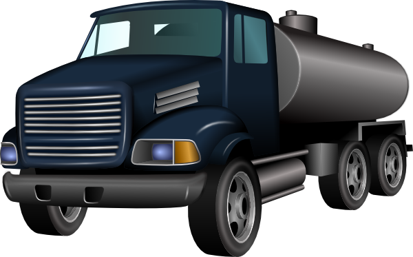 Water truck clipart.