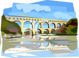 Double Bridge Over a Waterway.