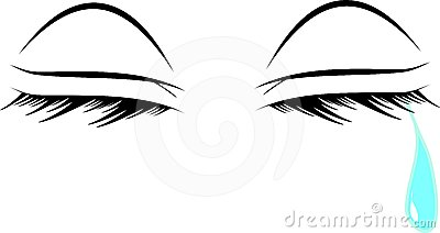 Watery Eyes Clipart.