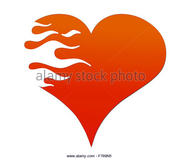 Flaming Heart Stock Photos & Flaming Heart Stock Images.