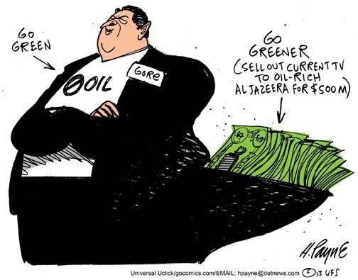 Al Gore's Carbon Footprint.