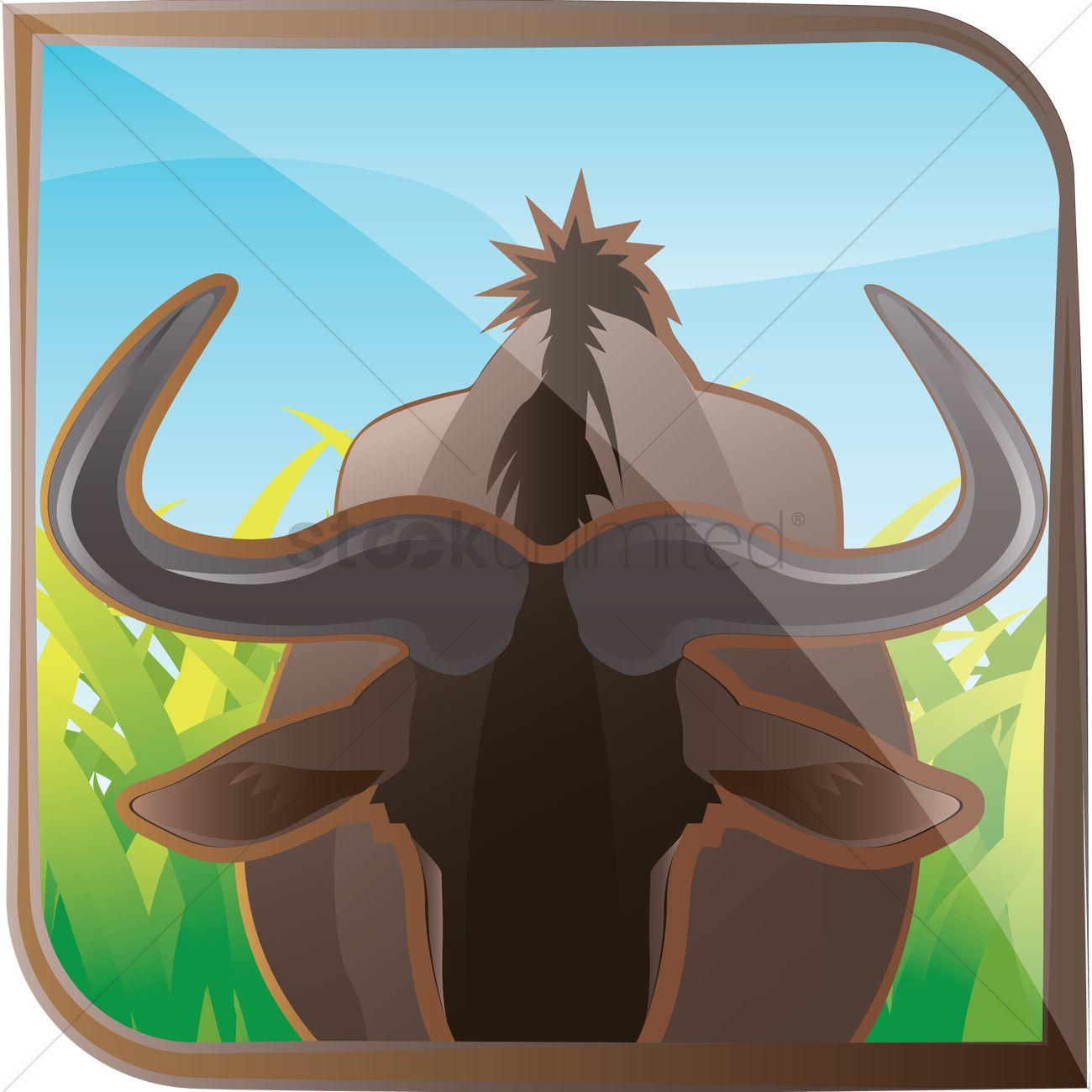 Free Watusi cattle Vector Image.