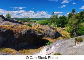 Stock Photo of hiking trail.