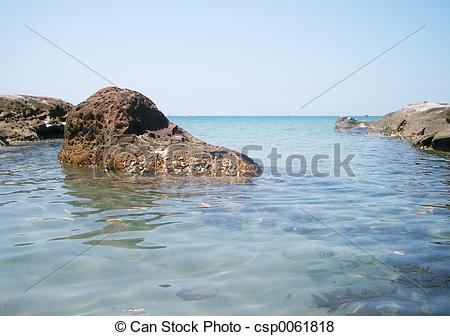 Pictures of Rocks at the ocean csp0061818.