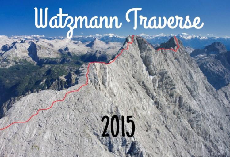 Watzmann Traverse 2015.