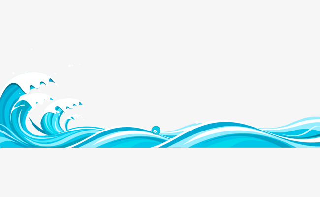Wave border clipart 5 » Clipart Station.