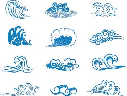 Wave free vector download (3,501 Free vector) for commercial.