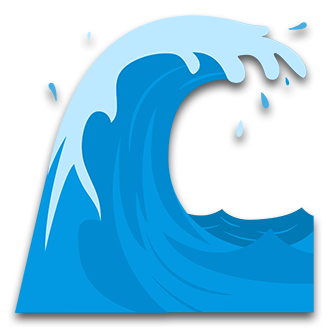 Water Waves Clipart.