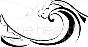 Ocean Waves Clipart.