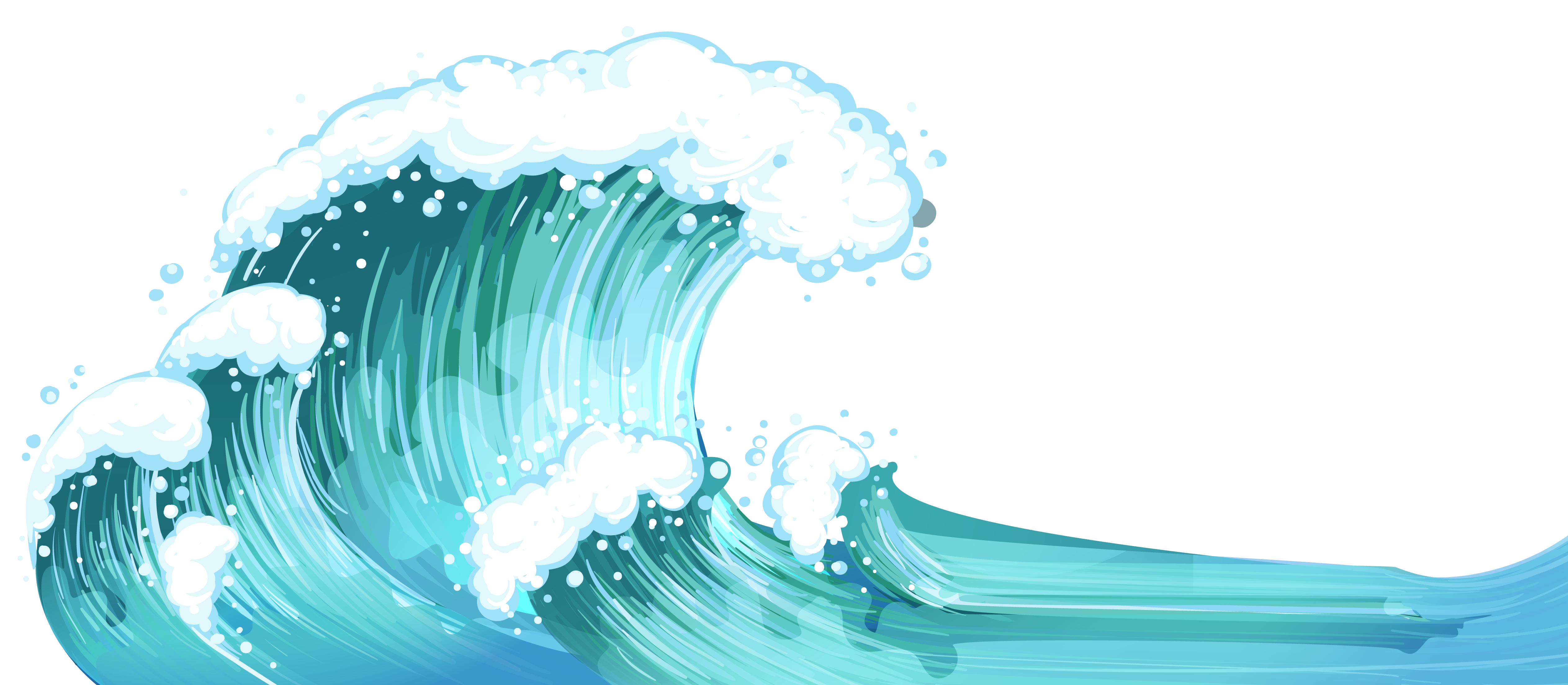 Sea Waves PNG Clipart.
