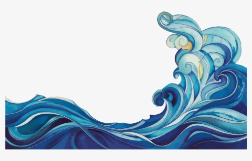 Free Waves Vector Clip Art with No Background , Page 2.