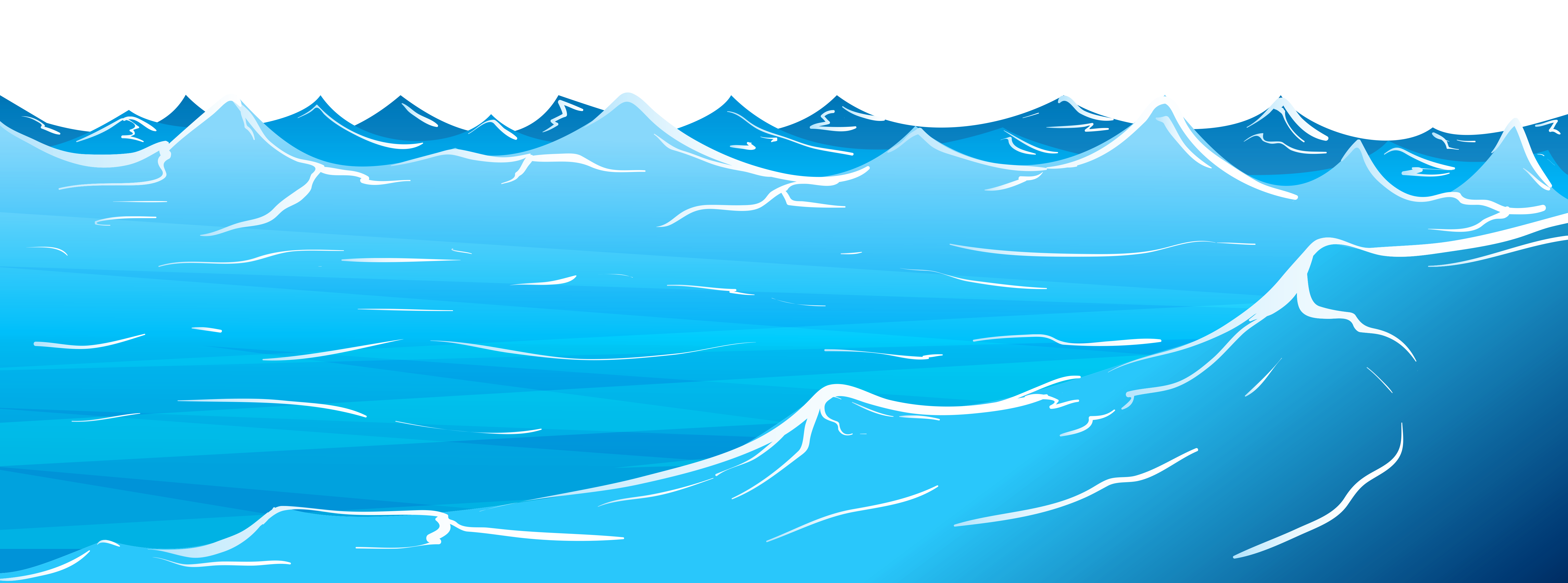 1846 Wave free clipart.