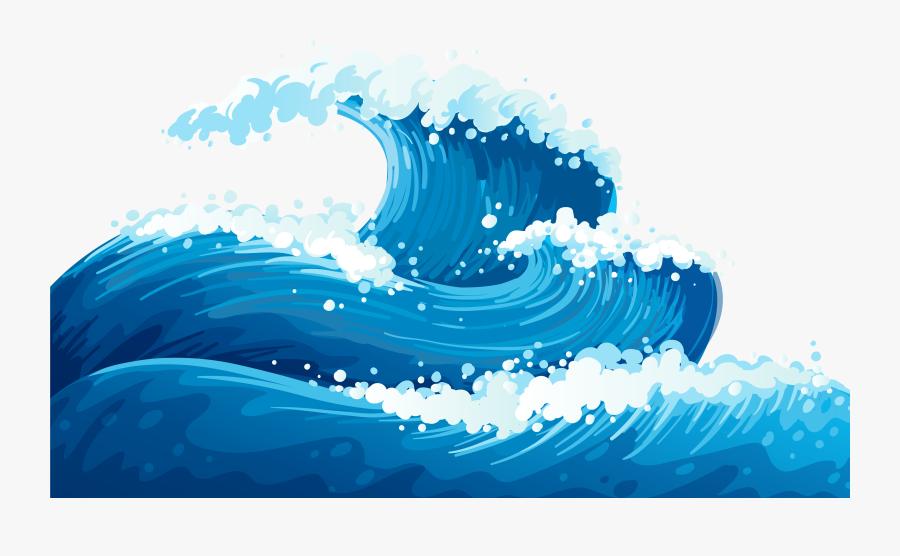 Ocean Wave Clip Art.