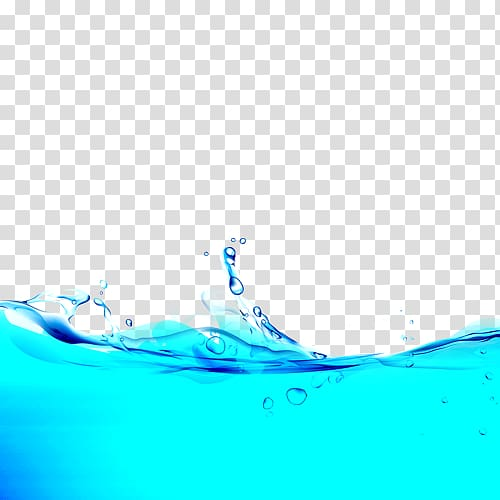 Surface water Wave, water surface transparent background PNG.