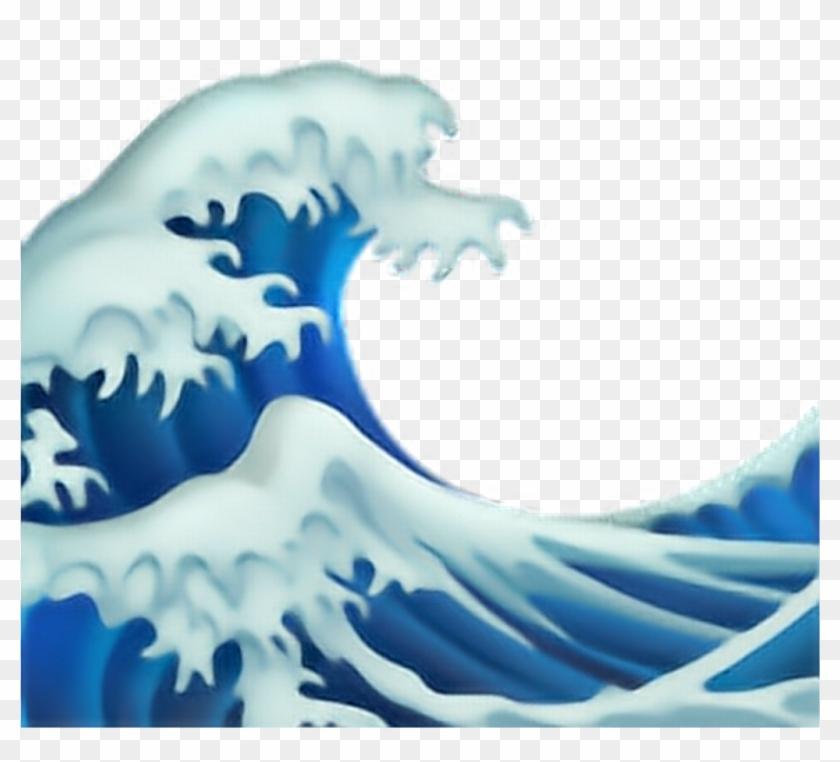 Wale Welle Water Emoji Freetoedit.