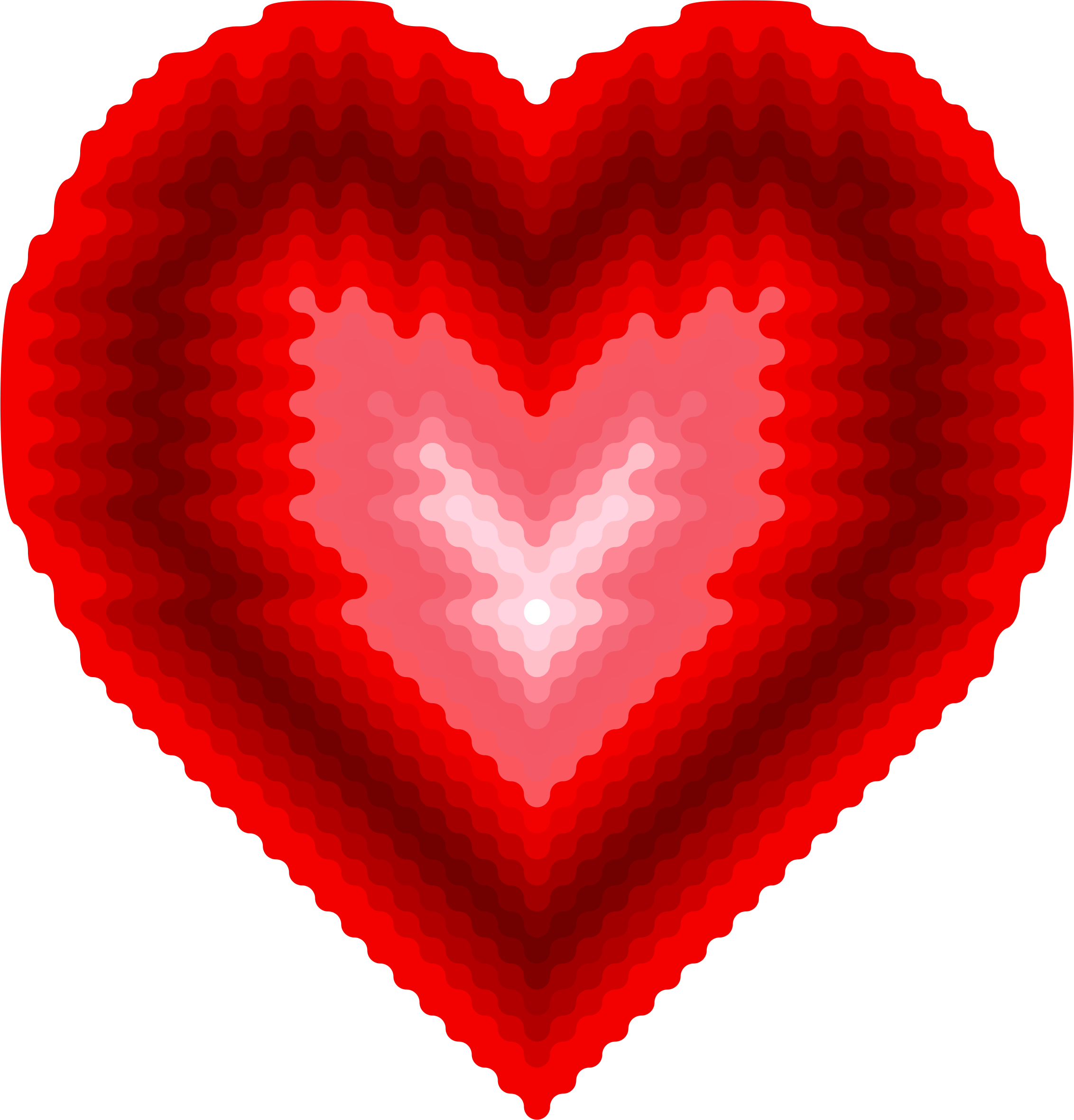 Heart clipart wave, Heart wave Transparent FREE for download.