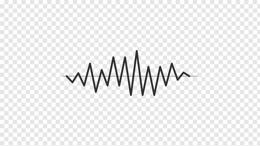 Heart rate illustration, Acoustic wave Sound, Sound wave.