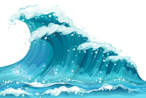 Png Images, Sea Waves, Clipart.
