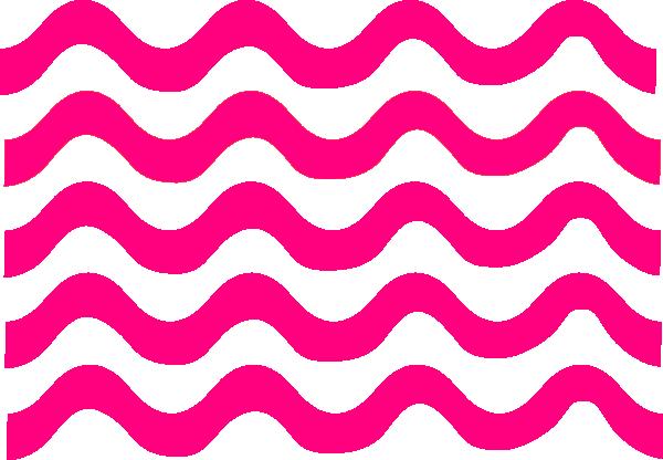 Pink Wave Lines Clip Art at Clker.com.