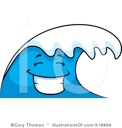 Animated wave clipart.
