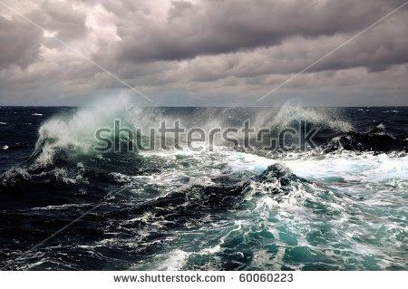 Sea Storm Stock Photos, Royalty.
