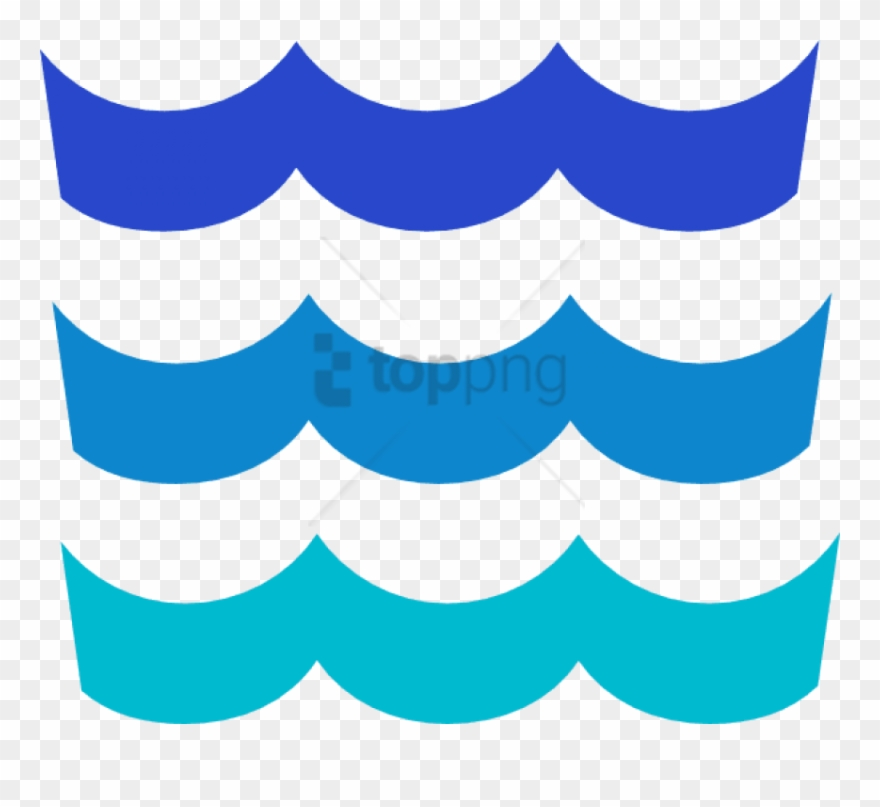 Ocean Waves Clipart.