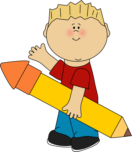 Boy Waving Clipart.