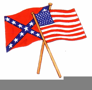 Free Confederate Flag Clipart.