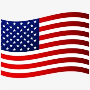 American Flag Clipart Waving.