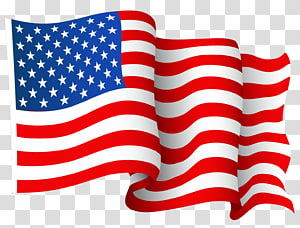 USA flag animated illustration, Flag of the United States.