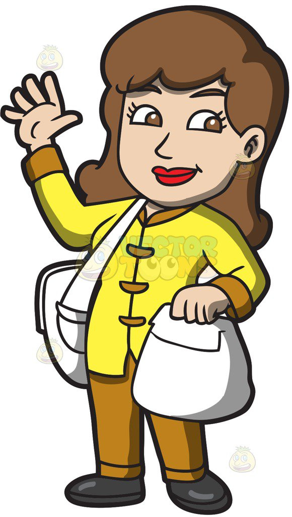 55512 Woman free clipart.