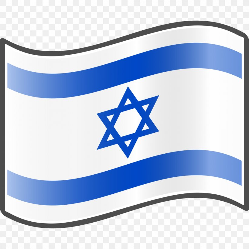 Flag Of Israel Clip Art, PNG, 1000x1000px, Israel, Area.