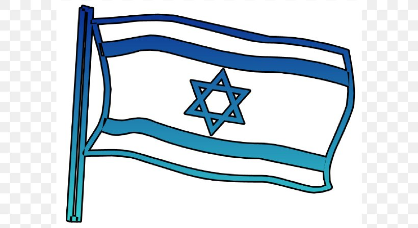 Flag Of Israel Clip Art, PNG, 600x448px, Israel, Area, Flag.