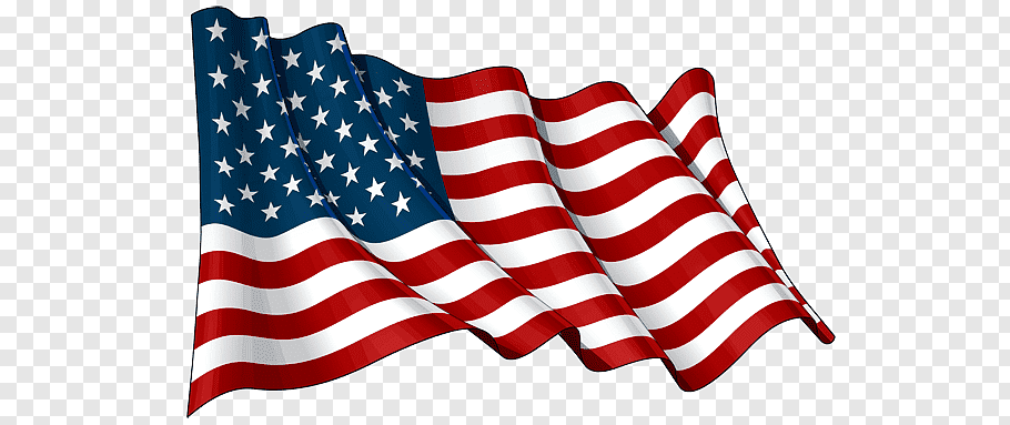 U.S. flag, Usa Waving Flag free png.