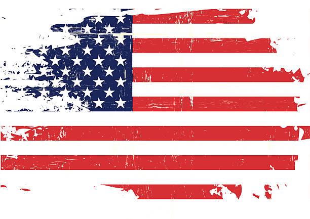 Tattered Flag Clipart.
