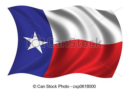 Waving texas flag clipart » Clipart Station.