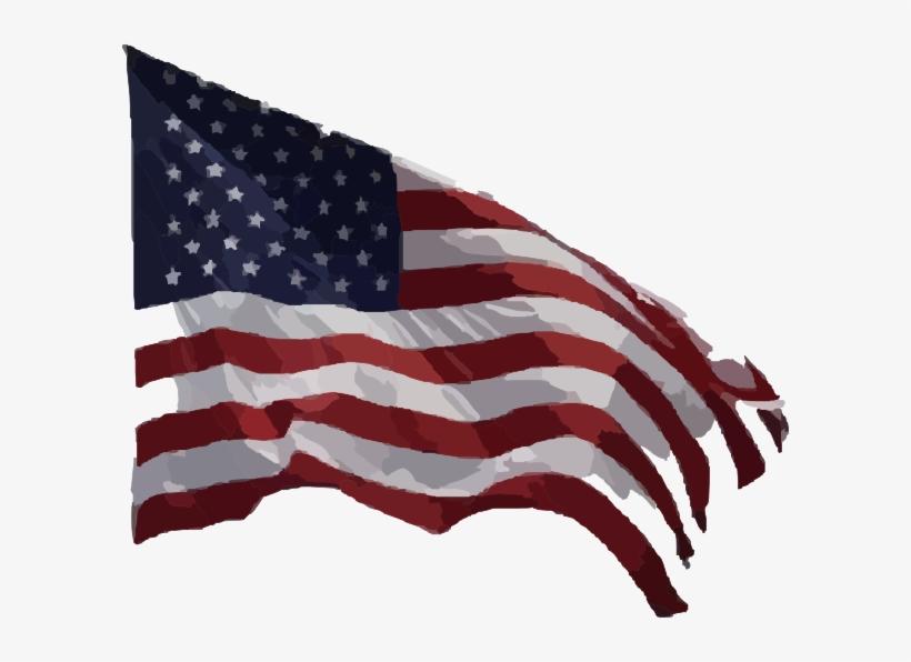 American Flag Vector Clip Art Png.