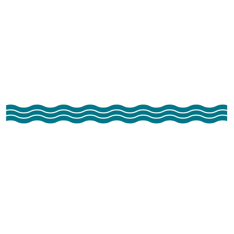 Wavy Design Clip Art.