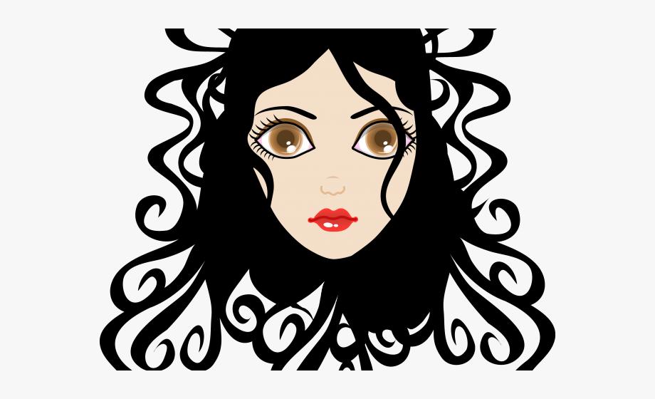 Curl Clipart Wavy Hair.
