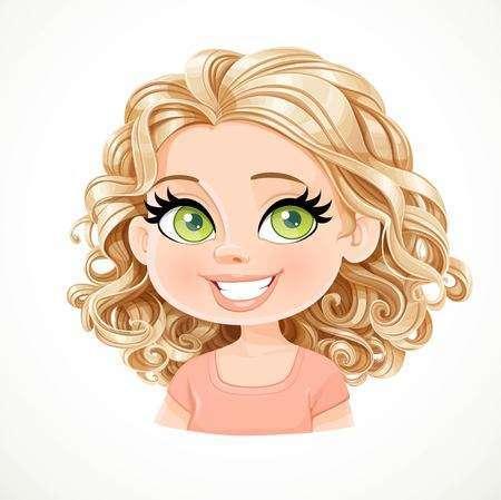 Clipart curly hair 4 » Clipart Portal.