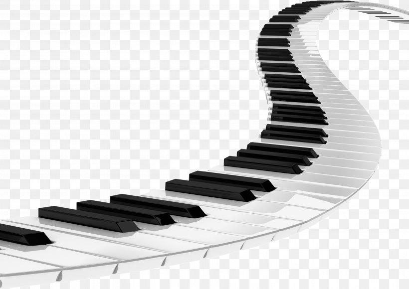 Piano Musical Keyboard Clip Art, PNG, 3507x2482px.