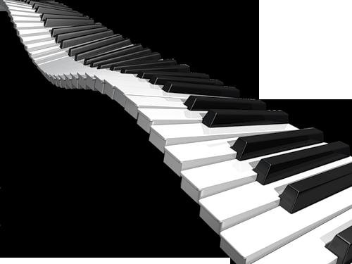 267 Piano Keys free clipart.