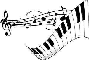 Piano Keyboard Clipart Free.