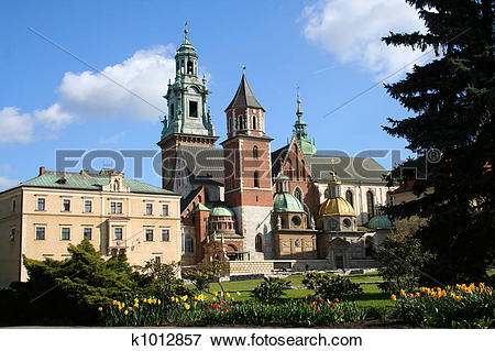 Picture of Wawel Castle. Krakow. Poland. k1012857.
